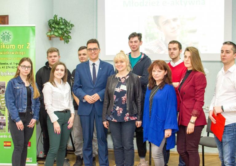 Spotkania z decydentami w Jędrzejowie, Kielcach i Starachowicach.